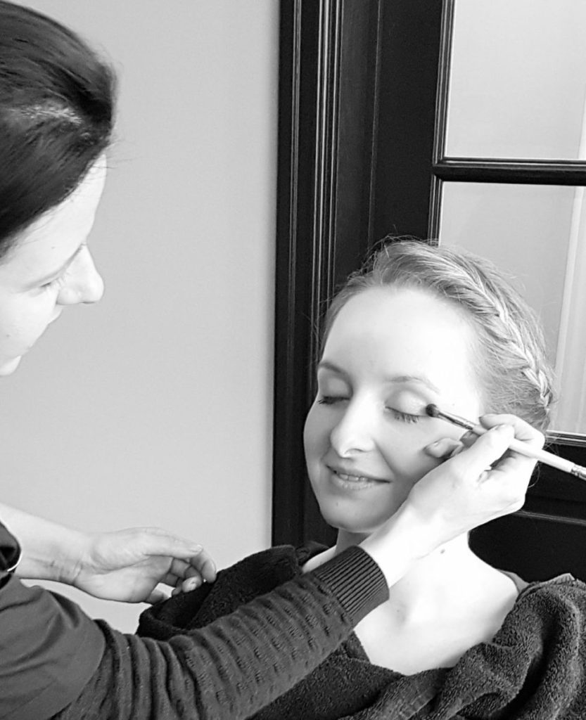 Wendy Maasen salon - klant make-up